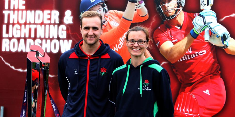 Livingstone and Laura Lancashire Cricket.JPG