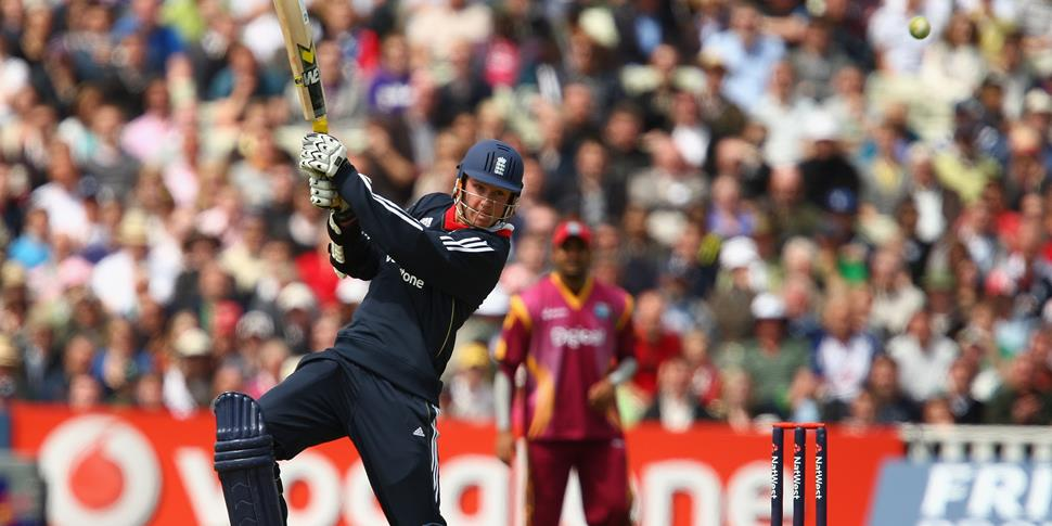England player Stuart Broad in action against the west indies in a one-day international fixture.jpg