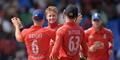 Joe Root celebrates with England team mates in the One-Day International fixture against West Indies.jpg