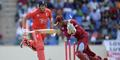 Tim Bresnan bowled out by the West Indies during the second One-Day International at Sir Viv Richards.jpg