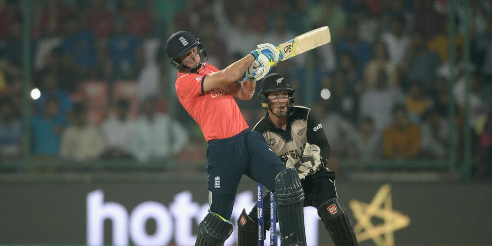 Lancahsire's Jos Buttler in action against New Zealand in the T20 world cup in india.jpg
