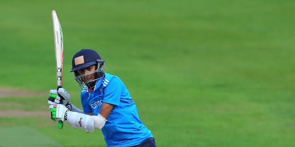Haseeb playing for England U19s.jpg