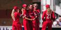 Lancashire Thunder in the Kia Women's Super League celebrate against Western Storm.jpg