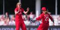 Sophie Ecclestone and Ellie Threlkeld celebrate a wicket for Lancashire Thunder.jpg
