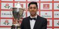 Haseeb Hameed with the Player of the Year trophy.jpg