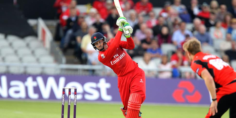 T20 cricket in Manchester with Martin Guptill.jpg