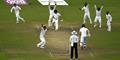 Bangladesh cricket player mehedi hasan appeals for lbw against Steven Finn during the Second Test Match in Dhaka.jpg