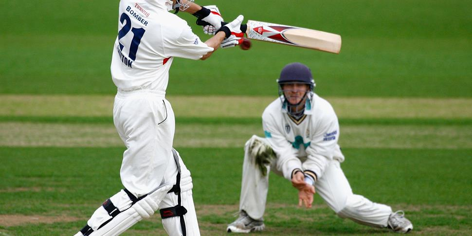 Lancashire County Cricket Club Mark Chilton against Hampshire in the County Championship.jpg