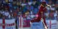 Shannon Gabriel is run out during the second ODI in Antigua.jpg