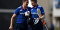 Joe Root and Chris Woakes celebrate the victory against the West Indies.jpg