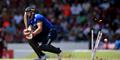 Lancashire and England's Jos Buttler is bowled out for England in the Third ODI.jpg