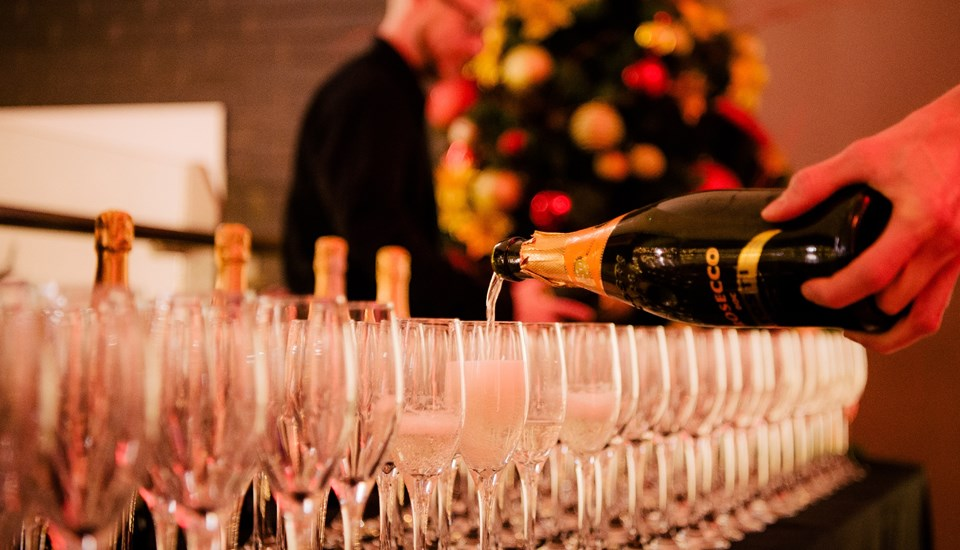 Emirates Old Trafford Pavilion Christmas Party 2018, Arrival Drinks.jpg