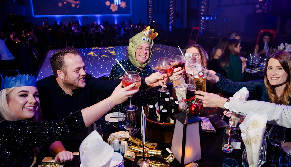 Emirates Old Trafford Works Finished Christmas Party 2018, Party Goers.jpg